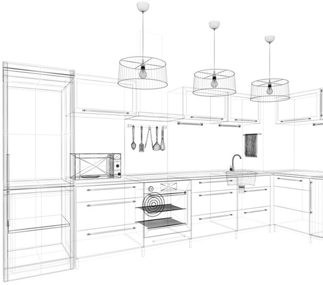 Æstetisk og holdbare køkkenbordplader